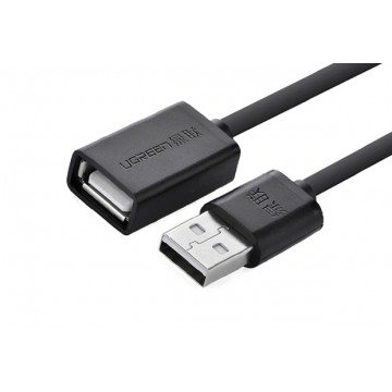 UGREEN 10315 USB 2.0 Extension Cable 1.5M  Black