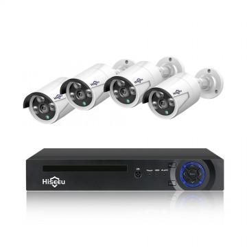 Hiseeu H5NVR 4CH 2MP/1080P PoE CCTV Systme