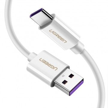 UGREEN 40888 5A Supercharge USB to USB C Cable White 1M