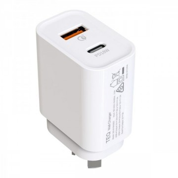 TEQ PD18W + QC 3.0 Fast Charger Dual adapter