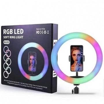 TEQ MJ33 -  RGB 12 inch LED Soft Ring Light