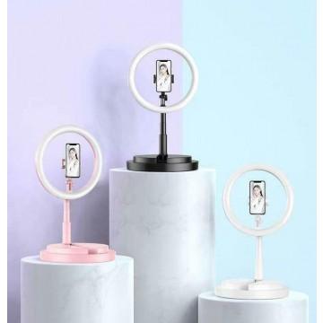 TEQ Y2 Bluetooth Live Beauty LED Light Selfie Stick  + Tripod stand